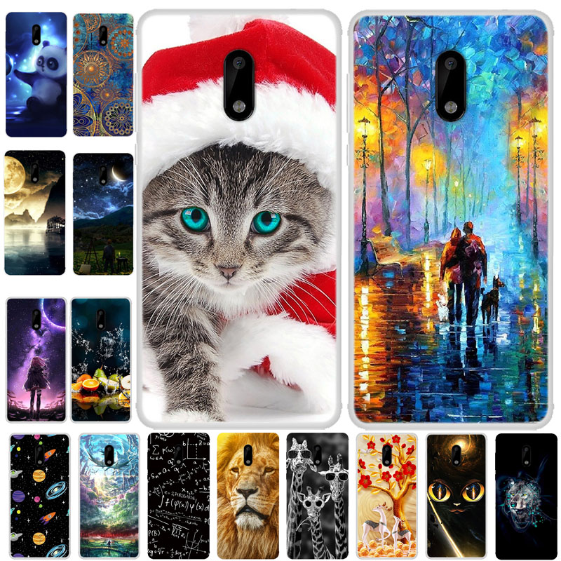 For Nokia 2.3 Case Cover Bumper On For Nokia 2.3 6.2 Inch TPU Soft Silicone Back Cover Case For Nokia 2.3 Nokia2.3 Coque Fundas