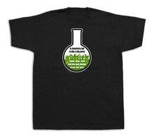 Una Maglietta Intelligente Intelligente Maglietta Grande Partito Laboratorio Chimica Maglietta leggera spedizione gratuita