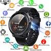 2021 LIGE IP68 Waterproof Smart Watch Men ECG Heart Rate Blood Pressure Monitor LED Flashlight Sports Fitness Tracker smartwatch 1