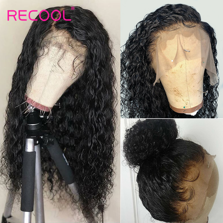 13x6 Lace Front Human Hair Wigs Water Wave Lace Front Wig 180 Density 6x6 Lace Closure 13x6 Lace Front Human Hair Wigs Water Wave Lace Front Wig 180 Density 6x6 Lace Closure Wig Brazilian Curly Human Hair Wig Recool