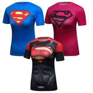 2019 superbohaterowie kobiety T Shirt Superman Batman Spiderman Hulk Flash Tshirt Iron Man zielona latarnia kapitan ameryka kobieta t-s