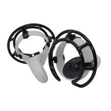 Anti Collision RingสำหรับOculus Quest 2 VR Touch Controllerป้องกันController GuardคลิปสำหรับOculus Quest 2อุปกรณ์เสริม