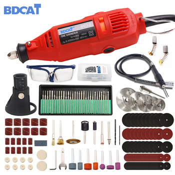 180W Engraver Mini Electric Drill Power Tools Rotary Tool Polishing Machine with Dremel Grinding Accessories Set Engraving Pen