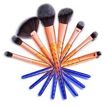 8PCS Makeup Cosmetic Brushes Set Multifunctional Powder Foundation Eyebrow Eyeliner Blush Lip Brush Pro Beauty Tool