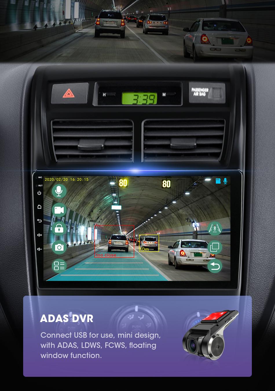 Автомагнитола 2 din на android 10 для kia sportage 2008 2010