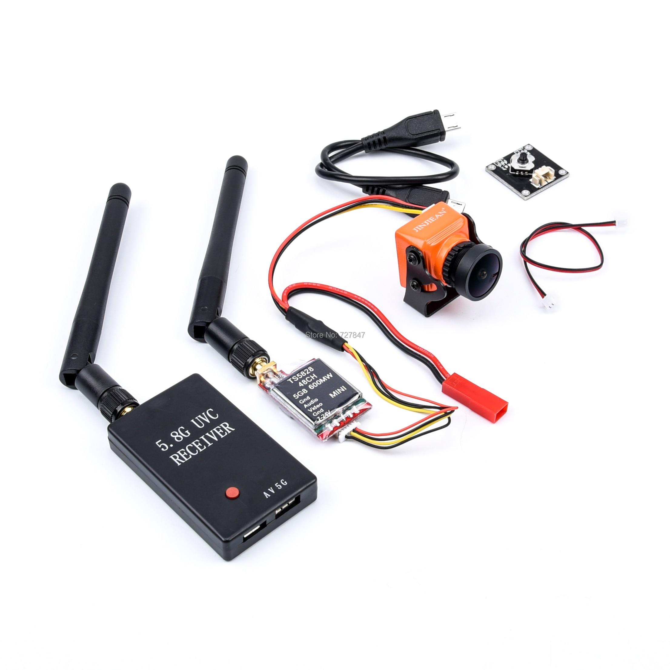 FPV 5,8G TS5823 200 МВт/TS5828 600 мВт передатчик + камера A23 1500TVL + мини 5,8G FPV приемник UVC видео|Детали и аксессуары|   | АлиЭкспресс