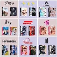 Kpop ATEEZ Album Photocard TXT Gifts GOT7 Photo-Print TWICE ITZY ENHYPEN Stray Kids