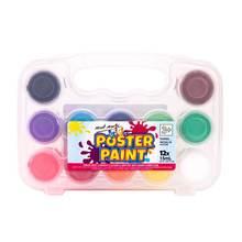 12 цветов 15 мл гуашь краска для пальцев с коробкой хранения