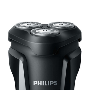 Image 2 - ماكينة الحلاقة فيليبس الكهربائية S1010, قابلة للغسل، للجسم، دائرية، قابلة لإعادة الشحن، بشفرات ثلاثية، ماكينة الحلاقة الكهربائية للرجال مع مؤشر