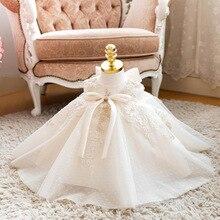 Одежда для маленьких девочек, платье принцессы для крещения, платье на 1-й день рождения, свадебное платье, детское платье для конкурса, плат...