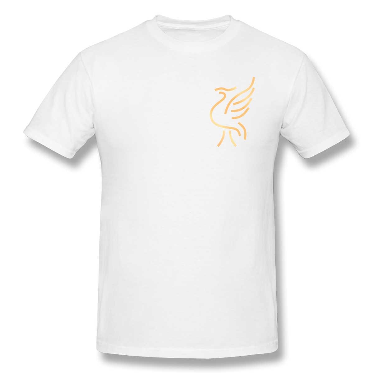 2020 nueva llegada 125 años de fútbol equipo ofertas gran venta Camiseta 100% algodón Liverpool adulto camiseta del cuello redondo