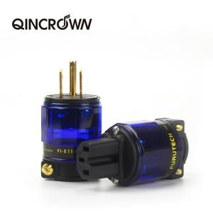 HIFI FI-E11-N1 (R) / FI-11-N1 (R) power plug end Schuko IEC 15 16 a / 125 v / 250 v MATIHUR