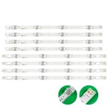 New 8pcs/set LED strip Replacement for LG LC420DUE 42LB5500 42LB5800 42LB560 INNOTEK DRT 3.0 42 inch A B 6916L 1710B 6916L 1709B