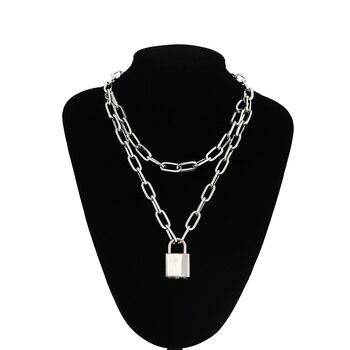 Dámsky náhrdelník so zámkov