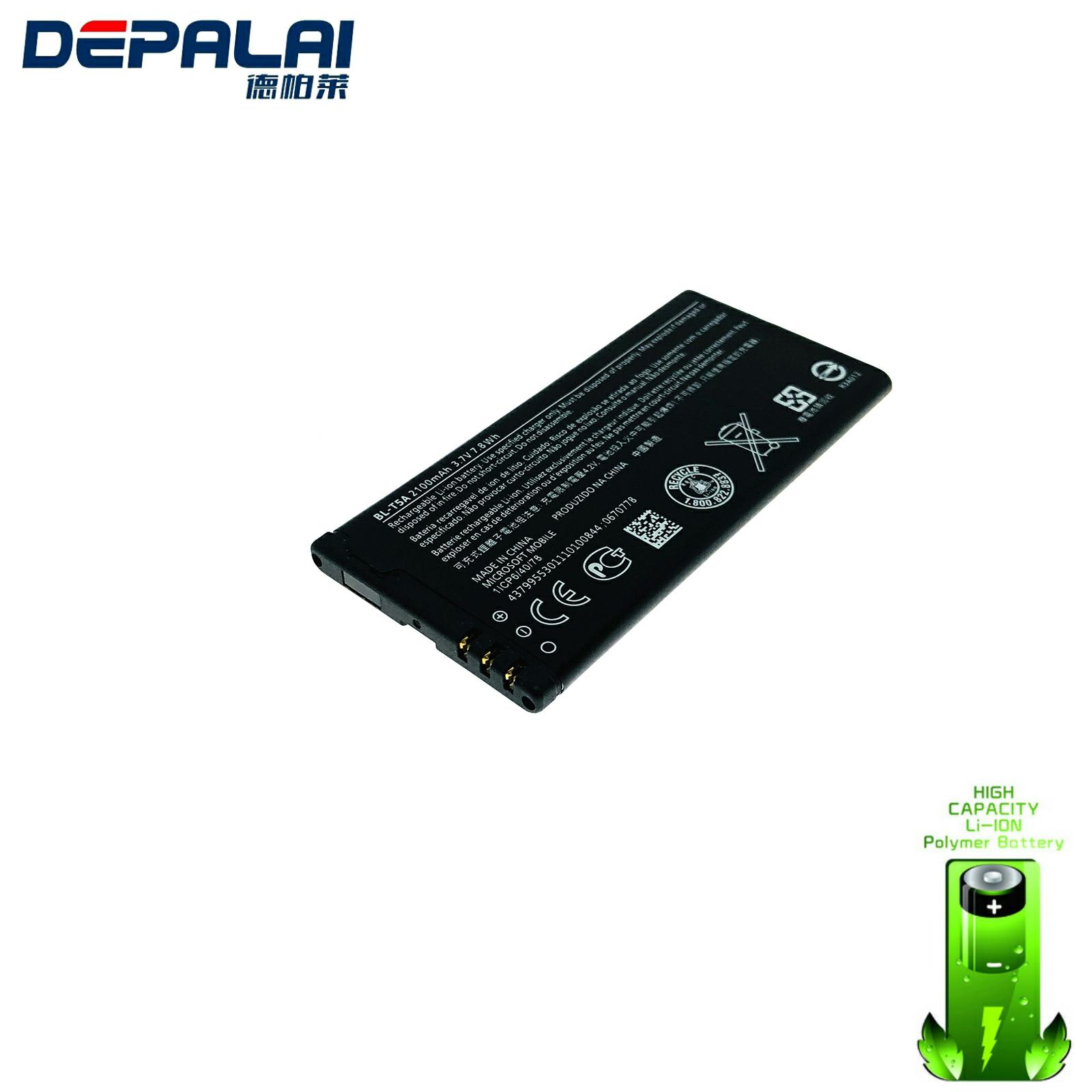2220mAh BV-T5A Replacement Battery For <font><b>Nokia</b></font> Lumia 730 735 738 Superman RM1038 RM1040 RM 1038 RM <font><b>1040</b></font> image