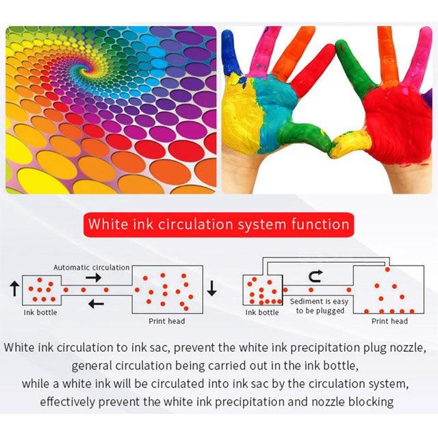 Imprimante UV LED multifonction procolor A3 taille jet dencre Machine dimpression à plat pour t-shirt tissu coque à Photo bois DTG uv-imprimantes