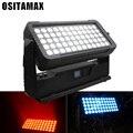 Новые настенные прожекторы LED наружный стробоскопический эффект 60x12 Вт городской цветной свет RGBW прожектор IP65 водонепроницаемое освещение