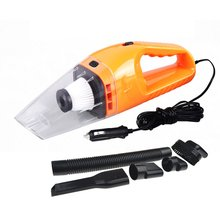 цена на Portable 120W 12V Car Vacuum Cleaner Handheld Mini Vacuum Cleaner Super Suction 5m Cable Wet And Dry Dual Use