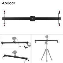 Andoer C3 электрический контроль покадровая фотография видео DSLR камера слайдер моторизованный стабилизатор рельс Долли для Canon DSLR