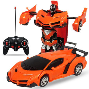RC Car Transformation Robots Vehicle Model Robots Toys Cool Deformation Car Electric Remote Control Cars Kids Boys Toys Gifts