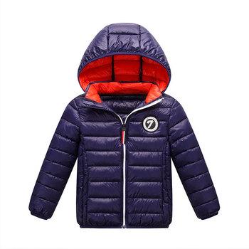 Dziecięce puchowe płaszcze dla chłopców ciepły jesienny zimowy z kapturem dziecięce puchowe kurtki dla dziewczynek cukierki kolor ciepły 3-10 lat odzież wierzchnia tanie i dobre opinie Moda COTTON CN (pochodzenie) Stałe REGULAR Kurtki płaszcze Pełna Pasuje mniejszy niż zwykle proszę sprawdzić ten sklep jest dobór informacji