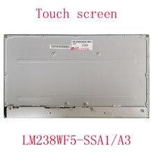 Gorący bubel 23.8 calowy ekran dotykowy LM238WF5 SSA1 LM238WF2 SSK1 dla lenovo 520-24IKU IKL wszystko w jednym komputerze