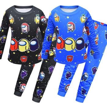 Juego de Pijamas para niños, ropa de dormir para bebés, conjunto de pijama de algodón Sets de pijamas    -