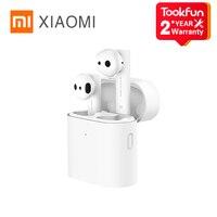 Xiaomi-auriculares inalámbricos Air TWS Airdots Pro 2 2s, cascos HD con reducción de ruido, sin retraso, Control IA, Bluetooth 2020, carga para videojuegos, 5,0