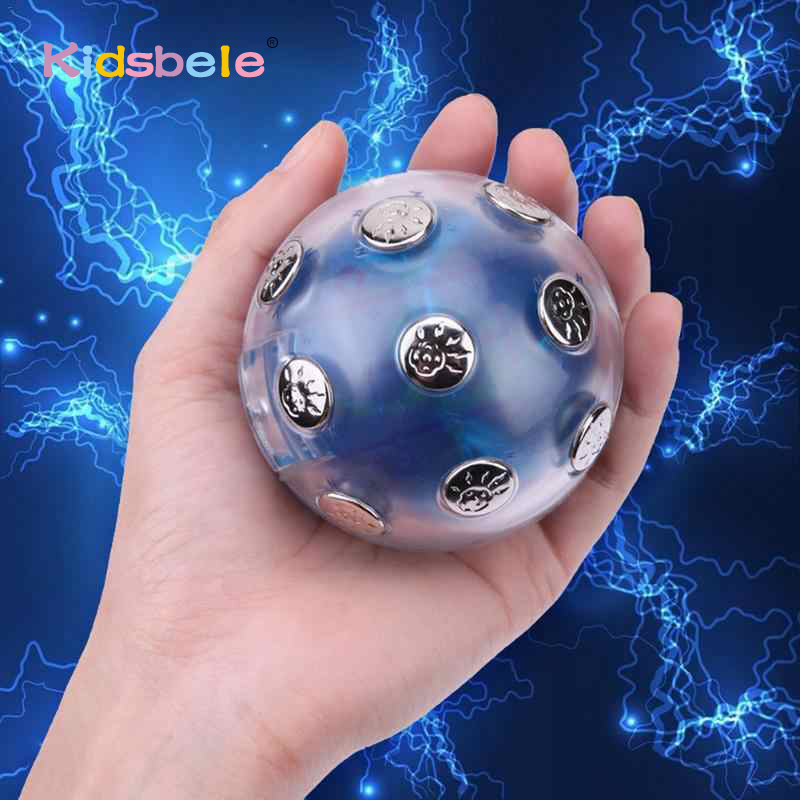 Electric Shocking Glowing Ball Adult/teenager Game Hot Potato Family Party Entertainment Gift Toys For Children Birthday Gift