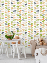Papier peint amovible multicolore pour murs de chambre à coucher, décor de maison, vinyle auto-adhésif, feuilles de papier de Contact pelées et collées