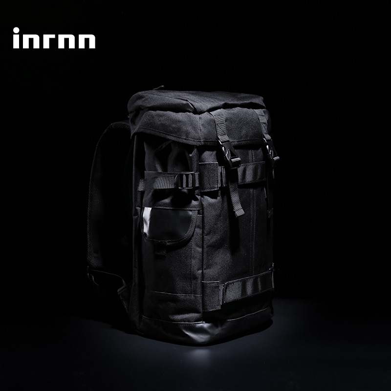 Inrnn Men Large Capacity Travel Backpack Waterproof Outdoor Sports Camping Backpack Male Fashion Luggage Bag Laptop Backpacks