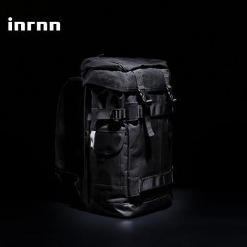 цена на inrnn Men Large Capacity Travel Backpack Waterproof Outdoor Sports Camping Backpack Male Fashion Luggage Bag Laptop Backpacks