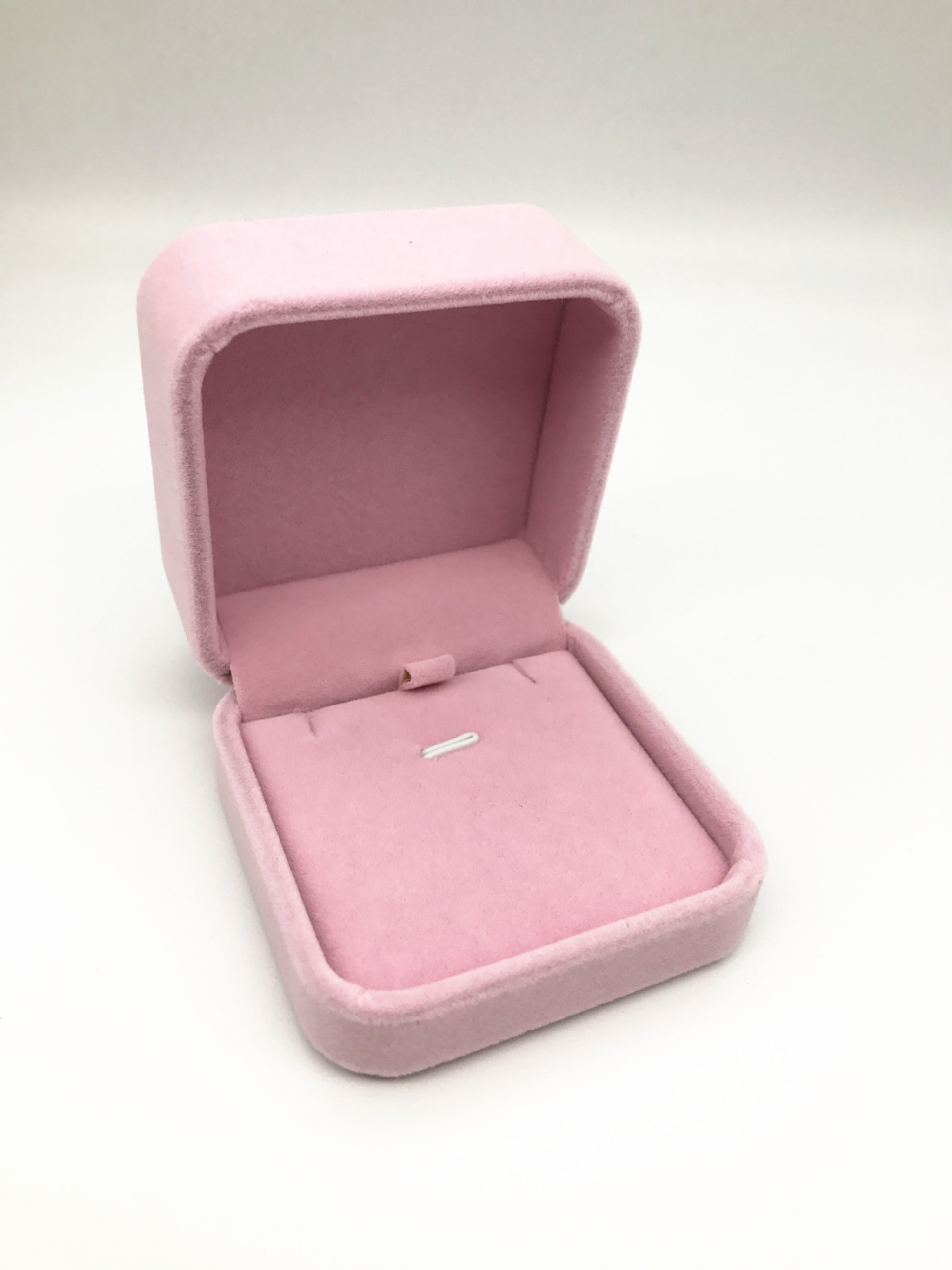 Korean-style Jewelry Wholesale Velvet Jewelry Necklace Packaging Box Pendant Gift Box Top Grade Fashion Boutique Box