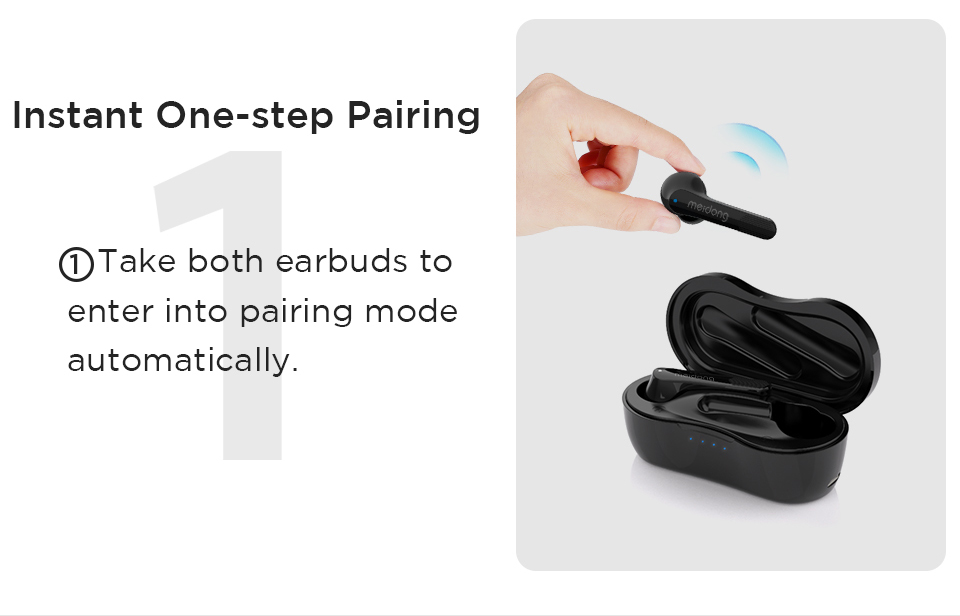 Meidong ky06 bluetooth earphone wireless headphones TWS sport earbuds Handsfree 3D Stereo with microphone bluetooth 5.0 headset