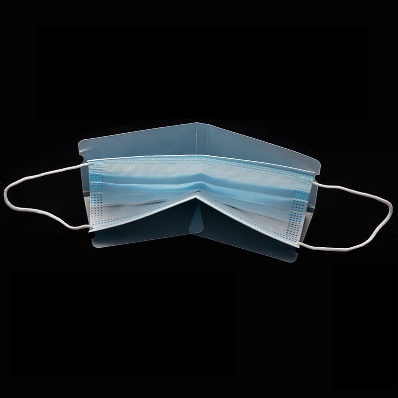 1/5/10pcs Dustproof Mask Folder Container Foldable Face Masks Folder Clip Safe Pollution Disposable Mask Storage Box Organizer