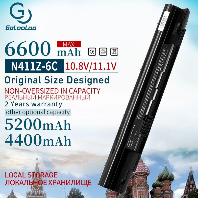 11.1v 4400mAh Battery for Dell Inspiron N311z N411z for Vostro V131 V131D V131R 268X5 H2XW1 H7XW1 JD41Y N2DN5 312-1257 312-1258 title=