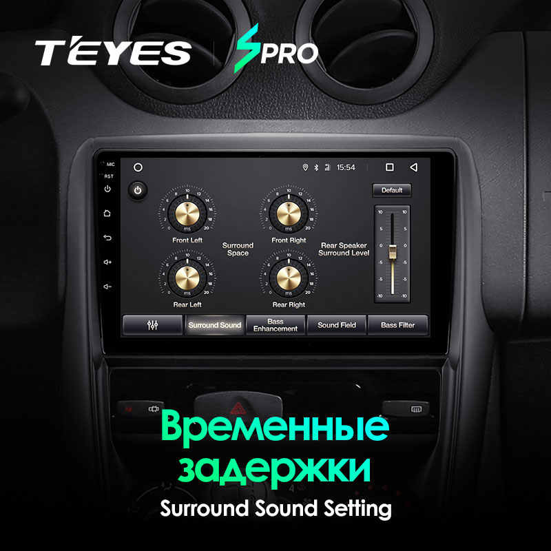 TEYES SPRO Per Renault Duster 1 2010 - 2015 Auto Radio Multimedia Video Player di Navigazione GPS Android 8.1 No 2din 2 din DVD