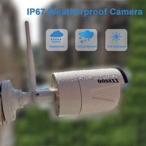 Image 3 - OOSSXX 8CH ไร้สาย 1080P ระบบกล้องรักษาความปลอดภัย NVR 6pcs 2MP เสียงบันทึก HD กล้องวงจรปิดไร้สาย IP กล้องการเฝ้าระวังวิดีโอ