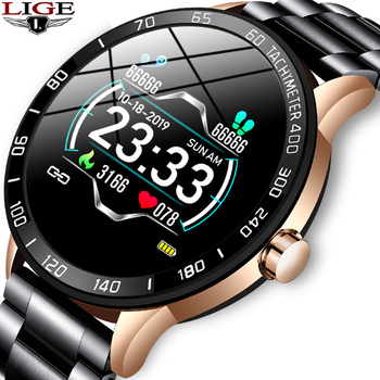New Smart Watch Men IP67 Waterproof Fitness Tracker Heart Rate Blood Pressure Monitor PedometerFor Android ios Sports smartwatch