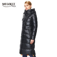 MIEGOFCE 2019 Fashionable Coat Jacket Women's Hooded Warm Parkas Bio Fluff Parka Coat Hight Quality Female New Winter Collection(China)
