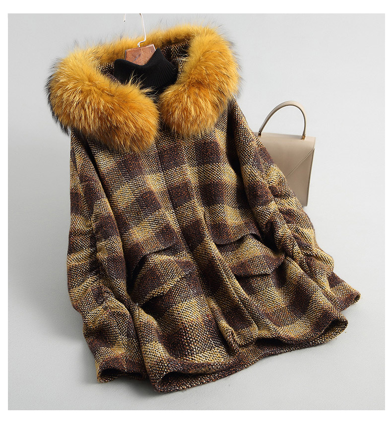 A18126 inverno das mulheres quente genuína lã