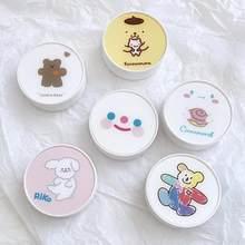 1Pcs Koreaanse Mode Diy Acryl Leuke Witte Eenvoudige Contact Lens Case For A Ogen Contactlenzen Box For A Glazen Gift Reizen