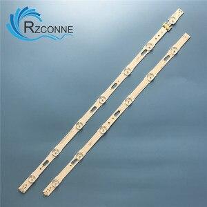 Image 2 - 1006mm 13 LED Backlight Lamp strip For SamSung UN50KU6300 50 TV LM41 00253A E88441 39657A 39658A UE50KU6000 S_KU6K_50_FL30