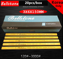Bellstone Rautan 3X6X150 Mm Minyak Batu Cetakan Polishing Tinggi Kelas VH Polishing Stone(China)