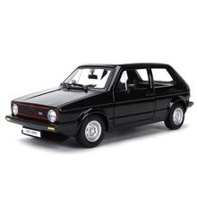 Bbugo 1:24 1979 골프 MK1 GTI 핫 해치 정적 다이 캐스팅 차량 Collectible Model Car Toys