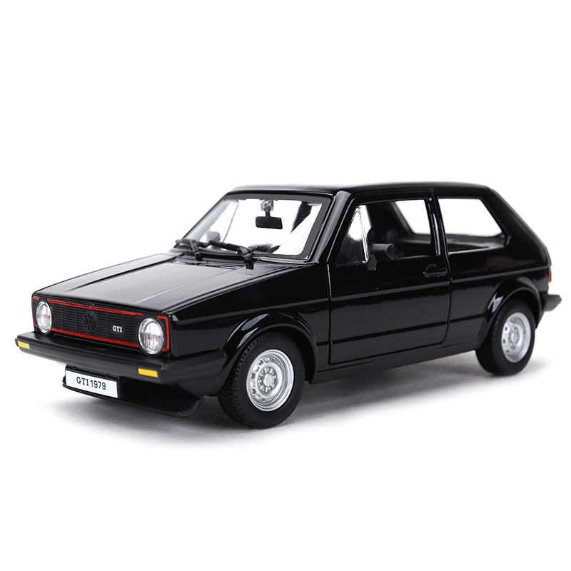 Bburago 1:24 1979 Golf MK1 GTI Hot Hatch Static Simulation Diecast Alloy Model Car