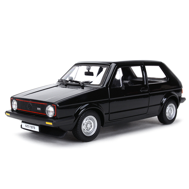 Bburago 1:24 1979 جولف MK1 GTI هوت هاتش ثابت يموت يلقي المركبات تحصيل نموذج سيارات لعب