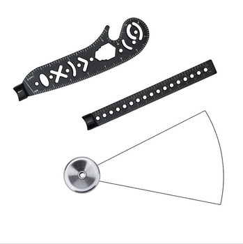Hot Multi-Function Drawing Ruler Tool Creative Math Compasses Draw Tools For Designers Artists Architects Student