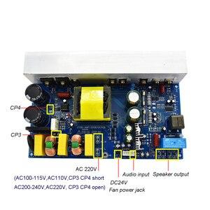 Image 3 - Lusya 1000W puissance Audio amplificateur carte classe D Mono canal numérique amplificateur de son avec interrupteur alimentation AC220/110V T1162