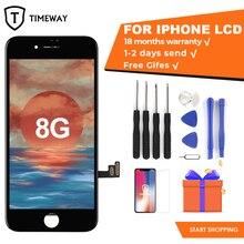 עבור iphone 8 LCD תצוגת מסך כיתה AAA TM OEM מגע מסך עם 3D מגע עבור iphone 8 LCD עצרת עם כלי